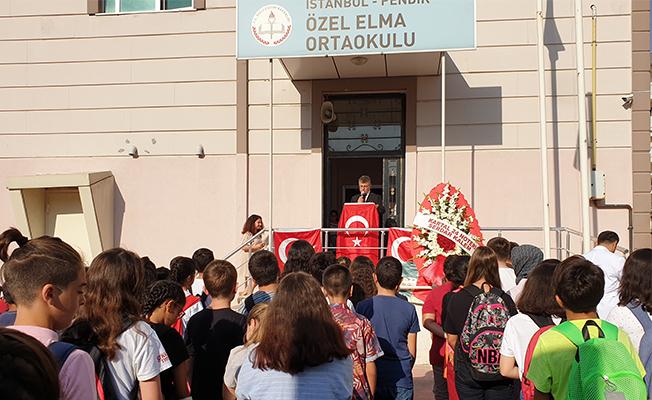 Özel Elma Kolejinde 2019-2020 eğitim-öğretim yılı törenle açıldı