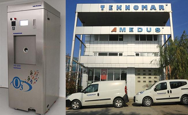 Teknomar'ın buluşu sterilizasyon tekniğinde Dünya'da ve Türkiye'de ilk