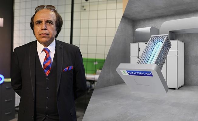 Cengiz Taşdemir; Nanogenair her türlü ortamdan virüsleri temizler