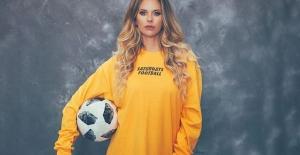 Futbol oynarken keşfedilen güzel