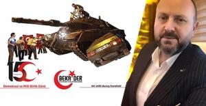 BEKADER Genel Başkanı Candar Can;...