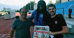 Gomis'ten Fenerbahçe'ye...